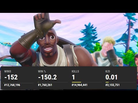 EXPOSING BAD PLAYERS STATS IN FORTNITE...