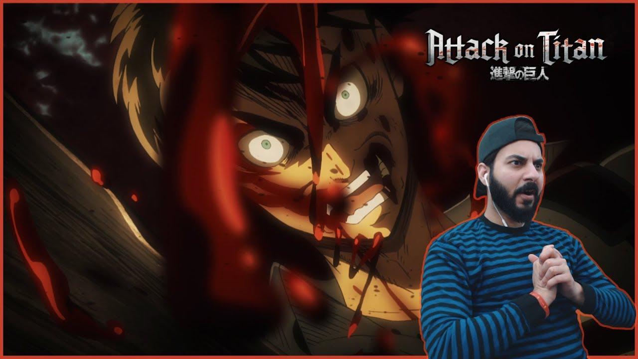 Attack on Titan REACTION! Episode 24 - Mercy: Raid on ...