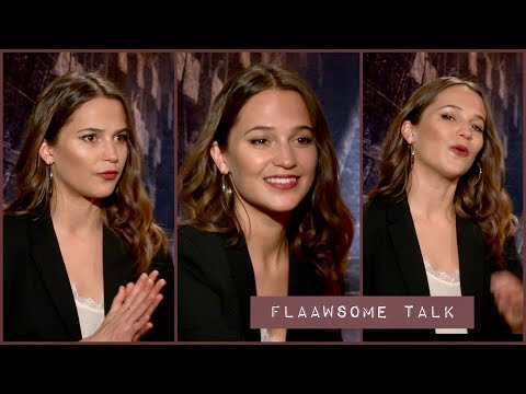 Alicia Vikander IN SWEDISH On The Pain Work Outs And Muscles For Becoming Lara Croft TOMB RAIDER