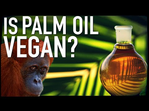 Is Palm Oil Vegan?