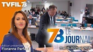 7/8 Le Journal – Edition du mardi 10 mai 2016