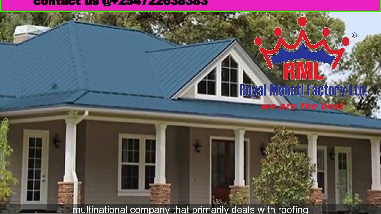 Kenya best roofing companyroofing materials companies kenya youtube