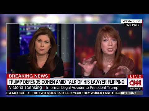 VICTORIA TOENSING FULL INTERVIEW WITH ERIN BURNETT (4/23/2018)