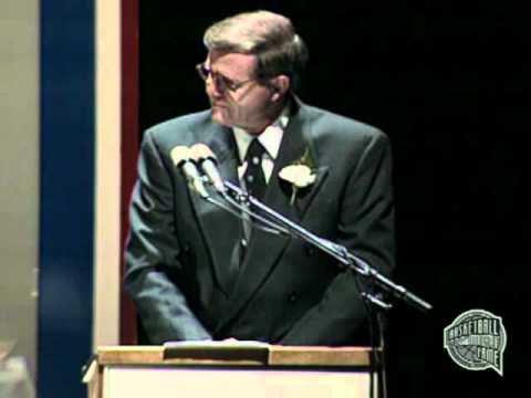 """Denzil E """"Denny"""" Crum's Basketball Hall of Fame Enshrinement Speech"""