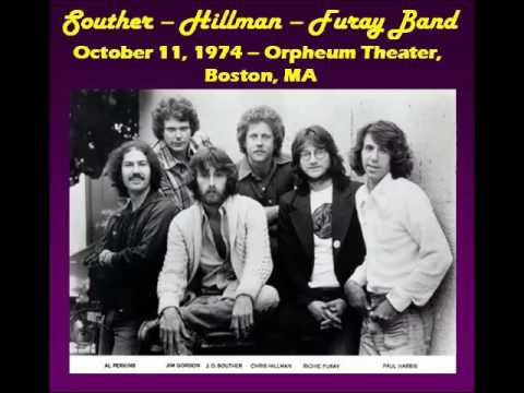 The Souther-Hillman-Furay Band - Live From Orpheum Theater, Boston,MA (10-11-1974)