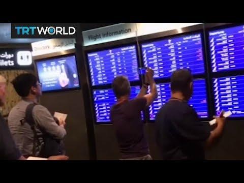 Passengers left stranded at Doha International Airport