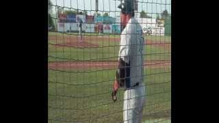 Jose Canseco#33 playing for Fort Worth Cats in Edinburg,Tx  2013 june