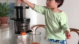 [귀여운영상]당근주스 만들기