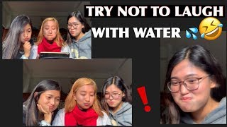 TRY NOT TO LAUGH WITH WATER CHALLENGE🤣💦(Nepali edition)
