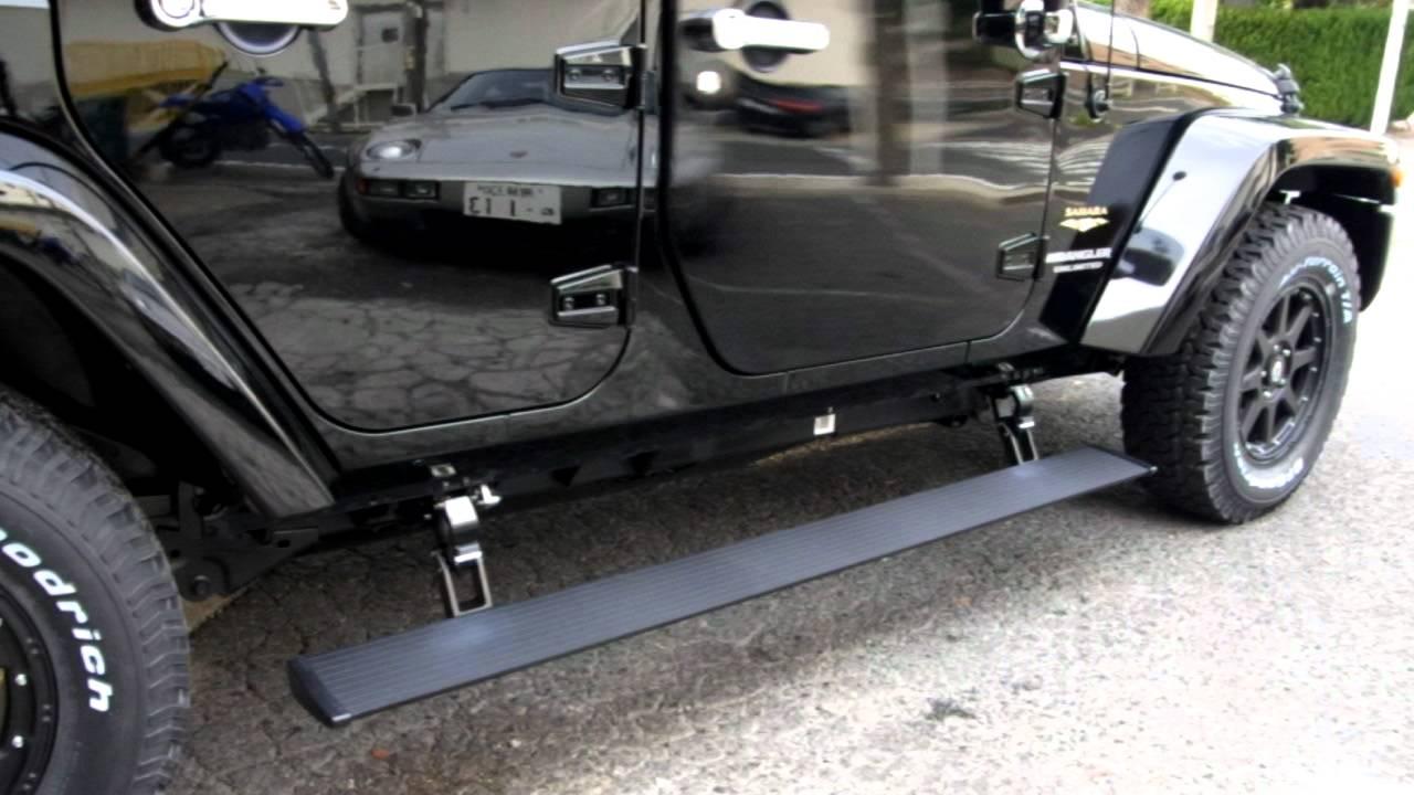 Jeep Wrangler Unlimited Running Boards Jk