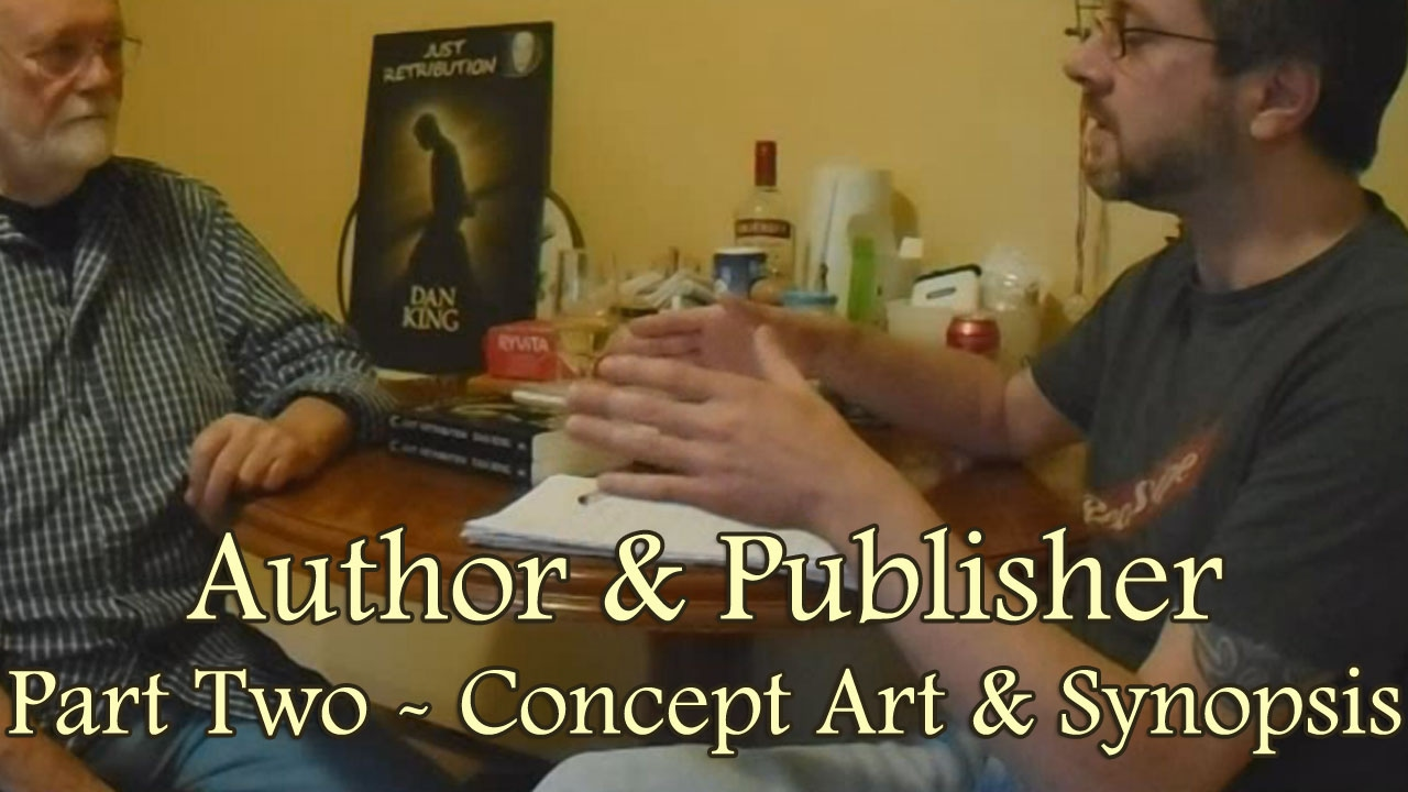 Author publisher part two concept art synopsis