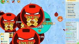игра Голодные Игры круче Агарио большой тим 30 000 массы
