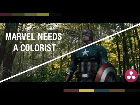 Marvel needs a colorist