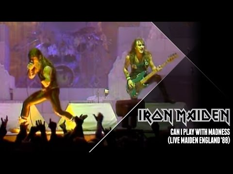 Iron Maiden - Can I Play With Madness (Live Maiden England '88)