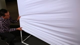Cnet How To   Make A Giant Projection Screen