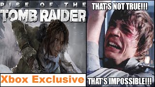 WTF!! Rise of the Tomb Raider Now an Xbox Exclusive. Sony Has Started R&D On PlayStation 5