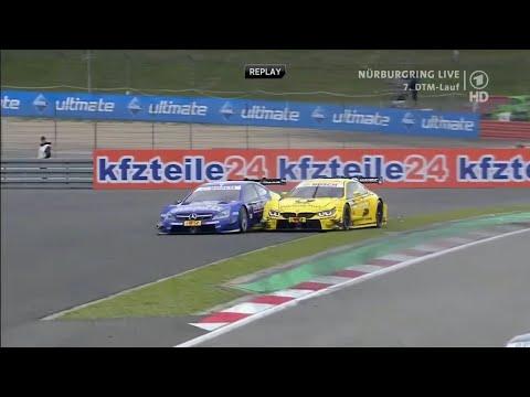 DTM Crashes 2012 - 2015