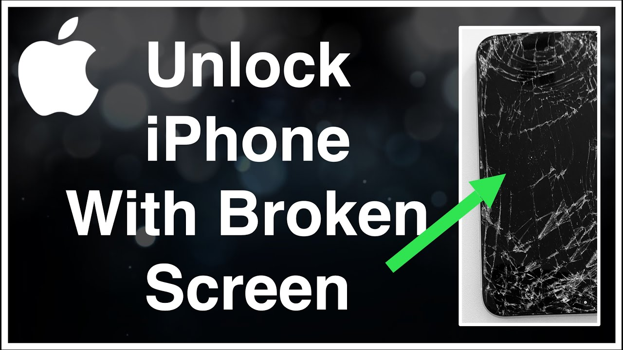 How To Unlock iPhone With a Broken Screen (2021)