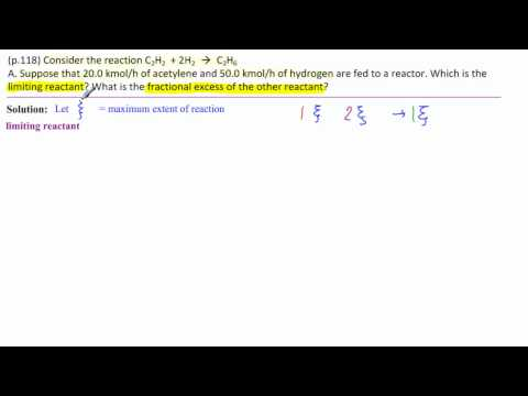 1.A Limiting Reactant-Fractional Excess