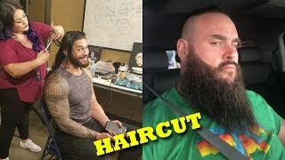 Top 5 WWE SUperstars Haircut in Real Life 2019 - Roman Reigns, Braun Strowman....