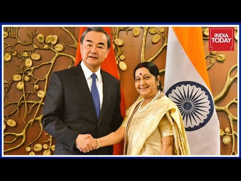 Sushma Swaraj Speaks After Holding Key Meeting Chinese Foreign Minister