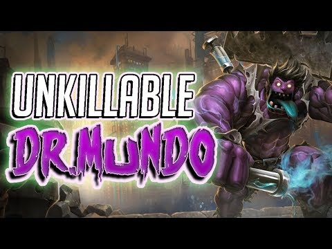UNKILLABLE DR. MUNDO! IS THIS MY NEW MAIN?! feat. Singed420 - League of Legends Full Gameplay