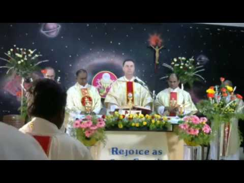 Rector Major Celebrating Mass @ Coimbatore LIVE