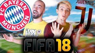 FIFA 18 - BAYERN VS JUVENTUS! TIAGOVSKI VS RUBENEX !