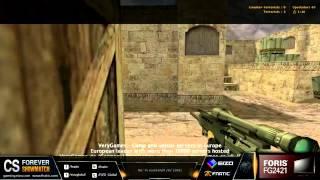 CSFOREVER SHOWMATCH (4/5): Fnatic 2009 vs NaVi 2010 (CS 1.6)