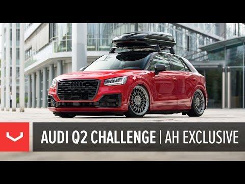 Audi Q2 Challenge | AH Exclusive | Vossen Forged ML-R2 Wheel at XS Car Night