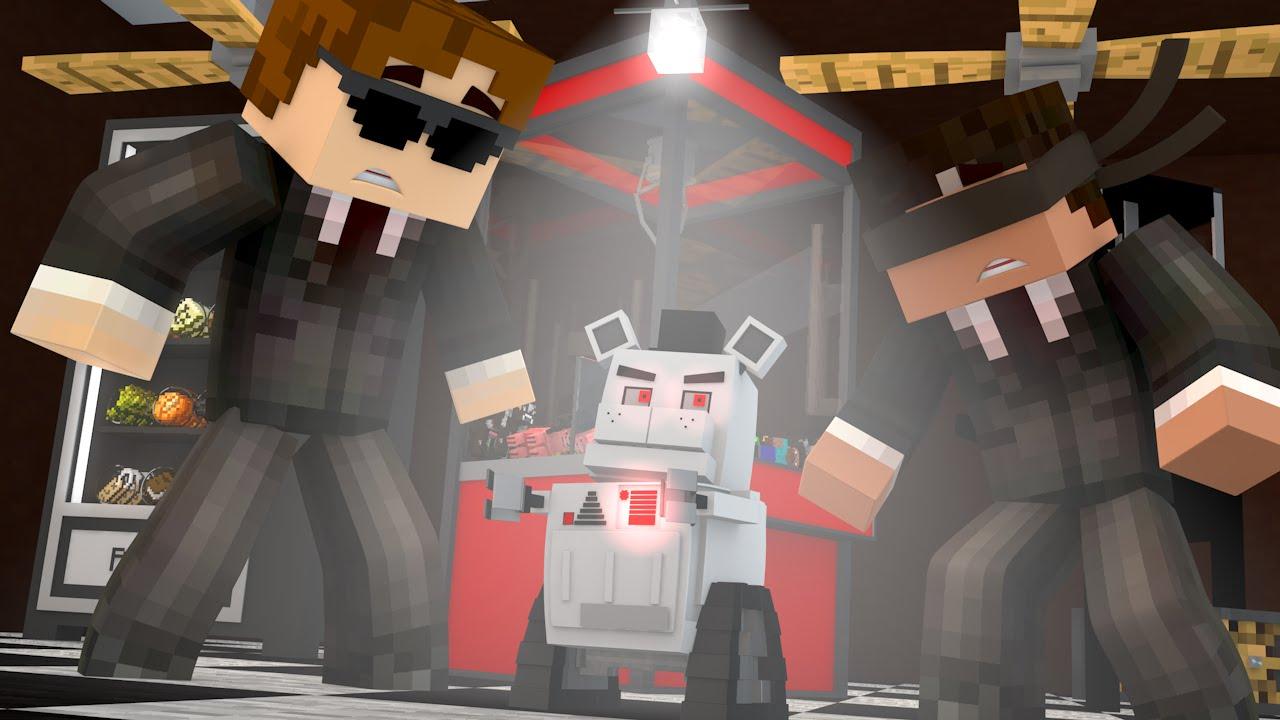 FNAF World EVIL CHIPPER Minecraft Roleplay Night 1