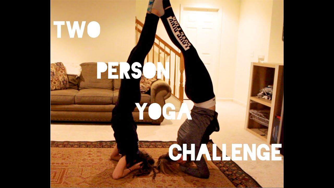 two person yoga challenge youtube