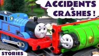 Thomas and Friends Toy Trains Accidents and Crashes with Paw Patrol Rescues - Toys Fun ToyTrains4u