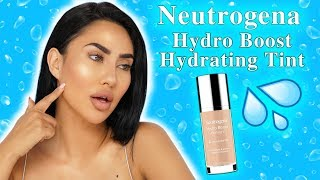 NEUTROGENA HYDRO BOOST HYDRATING TINT REVIEW | Is it worth buying?!!