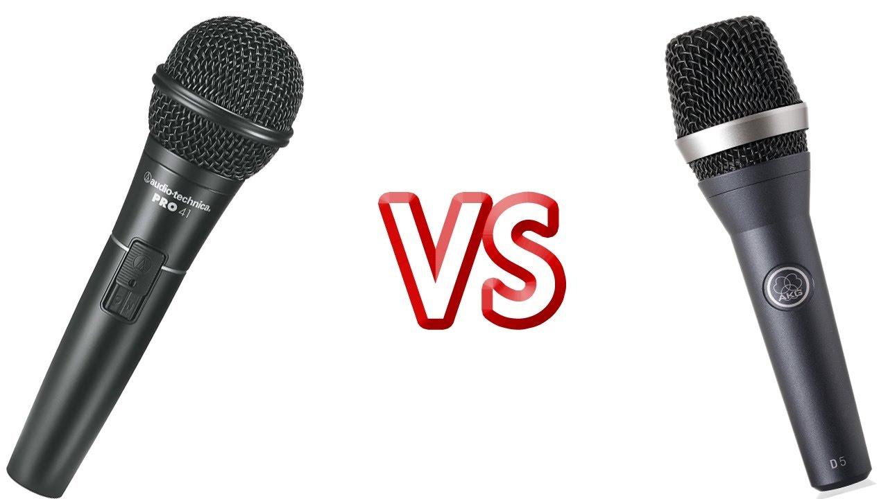 microphones audio technica pro 41 vs akg d5 youtube. Black Bedroom Furniture Sets. Home Design Ideas
