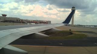 Landing at Hartsfield-Jackson Atlanta Int