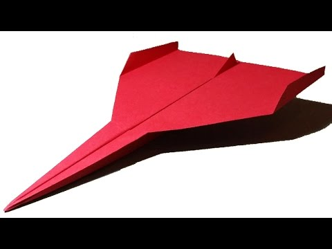 How to make a GOOD PAPER AIRPLANE that FLIES - cool paper airplanes that fly FAR | Limbus