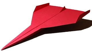 How to make a Paper Airplane that Flies Far - Papierflieger falten | Limbus