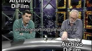 Rodolfo Santangelo con Carlos de Pablo - Déficit cuenta corriente y convertibilidad - DiFilm (1998)