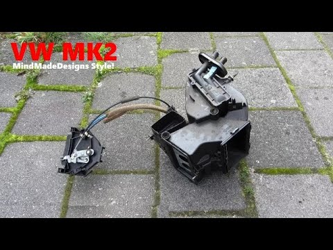 DIY Heater radiator core removal/replaced replace heater blower motor Vw Golf 2 / Jetta Mk2 ✔