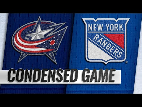 12/27/18 Condensed Game: Blue Jackets @ Rangers