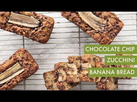 Chocolate Chip Zucchini Banana Bread | Inspiralized
