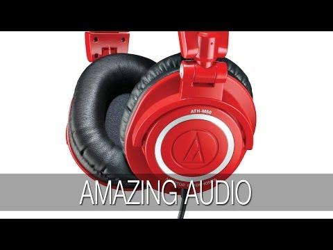 Audio Technica ATH-M50 RD Headphones Unboxing & Review @AudioTechnicaUK