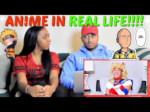 "Nigahiga ""Anime in Real Life"" REACTION"