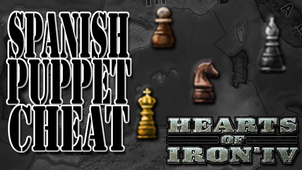 EXPLOIT/CHEAT FREE SPANISH PUPPET - Hearts of Iron 4 (HOI4)