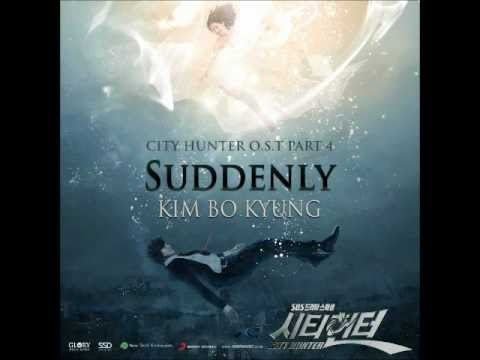 01 김보경 Kim Bo Kyung - Suddenly (City Hunter OST Part 4)