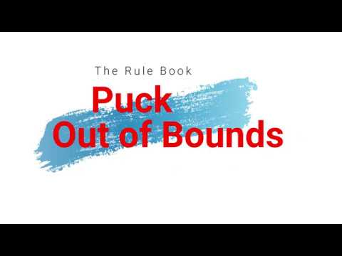 Puck out of Bounds