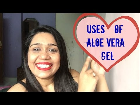 4 Ways to use Aloe Vera gel| DIY Foot Scrub| How to use patanjali aloe Vera gel