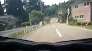 寺尾温泉から山田村方向へ / 08隼