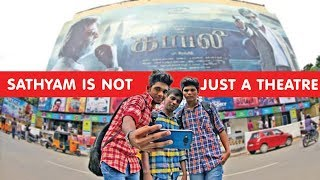 Movie Lovers Express Their Love For Sathyam Cinemas | PVR Gets Sathyam